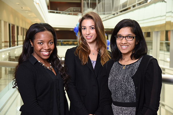 Wright Scholarships awarded to 3 women with promising cancer research futures