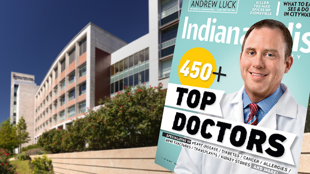 "IU Simon Cancer Center members are among ""Top Docs"""